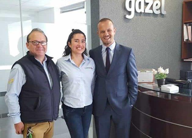 Visita comercial GAZEL